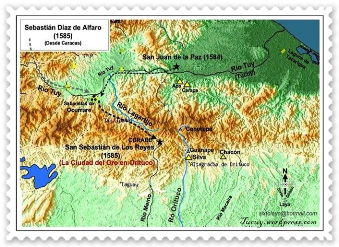Detalle viajes de Sebastian Díaz de Alfaro
