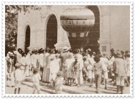 Fiestas Patronales de Ocumare del Tuy en honor a San Diego de Alcalá, Foto de Revista Élite del 26 de Noviembre de 1927.